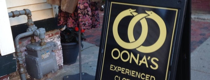 Oona's Experienced Clothing is one of DigBoston's Tip List.