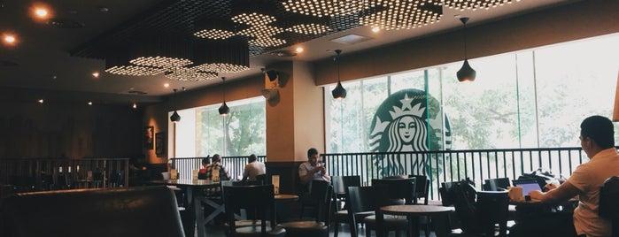 Starbucks is one of Sonia : понравившиеся места.