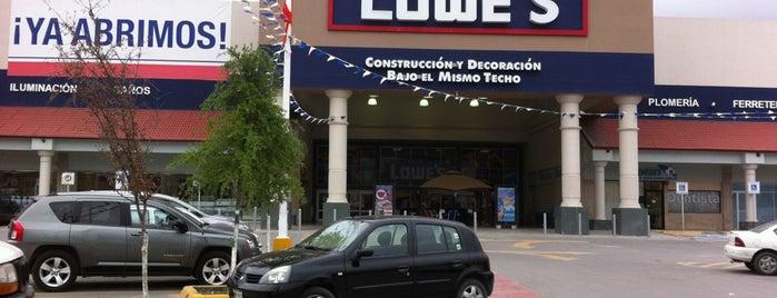 Lowe's Home Improvement is one of Locais curtidos por Santiago.