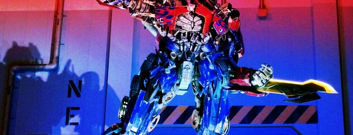Transformers: The Ride - 3D is one of Lieux qui ont plu à M..