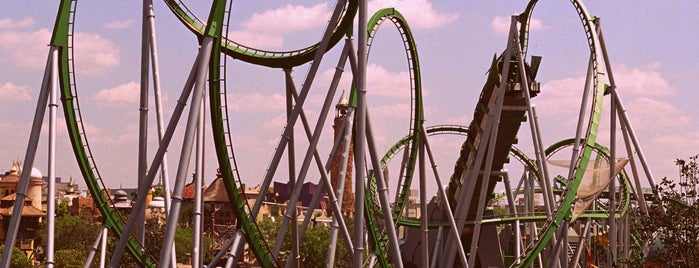 Universal's Islands of Adventure is one of Lugares favoritos de Lindsaye.