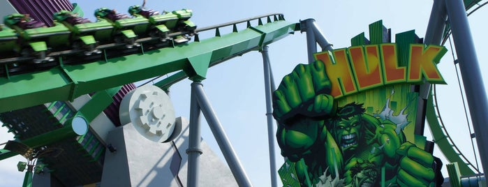 The Incredible Hulk Coaster is one of Orlando Informerさんのお気に入りスポット.