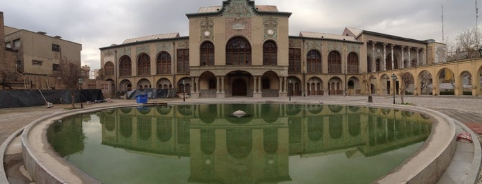 Masoudiyeh Palace | عمارت مسعوديه is one of Posti salvati di vahid.