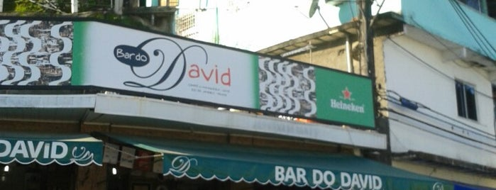 Bar do David is one of Rio.