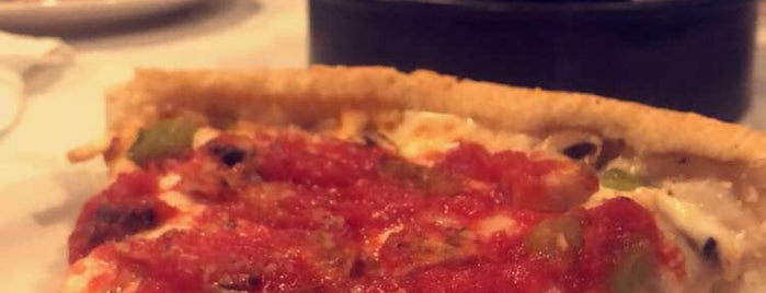 Pizzeria Ora - Chicago Style Pizza is one of Posti che sono piaciuti a Mzn.
