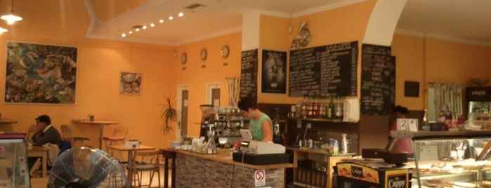 Café 87 is one of Experience Olomouc like a locals!.