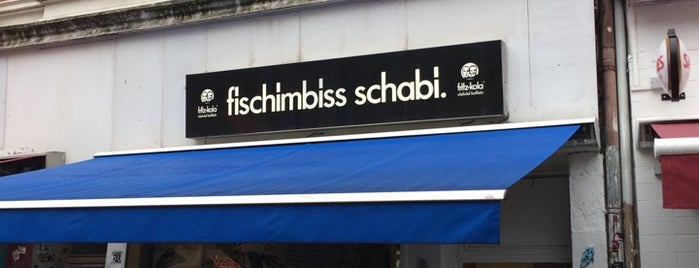 Fisch Imbiss Schabi is one of Best of Hamburg.