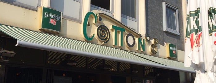 Cotton's is one of Orte, die Jochen gefallen.