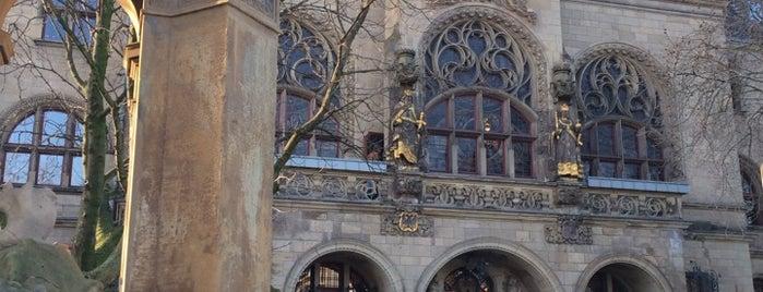 Burgplatz is one of Ingress.