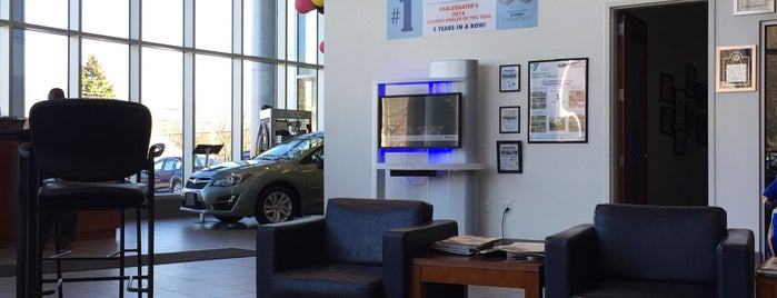 Center Subaru is one of Subaru of New England Dealers.