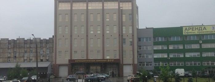БСС фармацевтическая компания is one of Mihail : понравившиеся места.