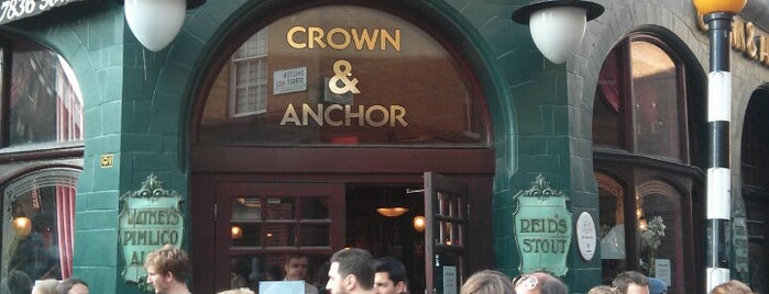 The Crown & Anchor is one of Inglaterra.