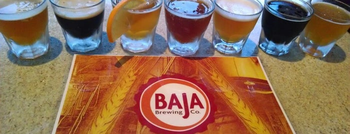 Baja Brewing Co. is one of The best Hotel bars in Cabo San Lucas..