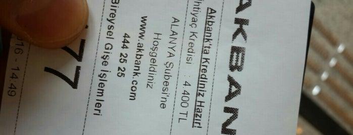 Akbank ATM is one of Orte, die Yunus gefallen.