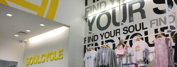 SoulCycle Brooklyn Heights is one of Tempat yang Disukai Danielle.