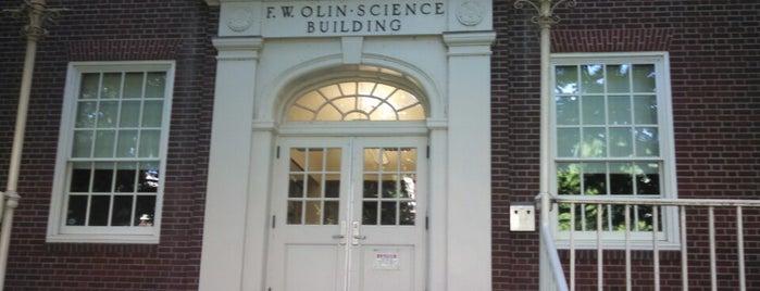 Olin Science is one of Timothy : понравившиеся места.