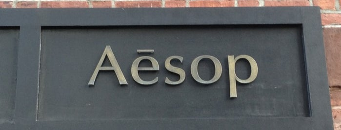 Aēsop is one of New York.