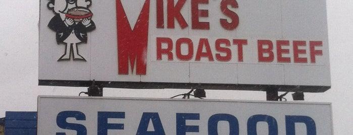 Mike's Roast Beef is one of Tempat yang Disukai Eddie.