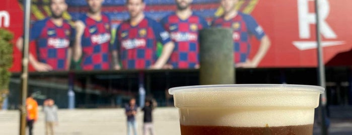 Barcelona Stadium is one of Klausz : понравившиеся места.