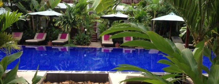 La Niche D' Angkor Boutique Hotel is one of My Hotels.