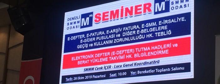 Merkezefendi Toplantı ve Sergi Salonu is one of Lugares favoritos de Özge.