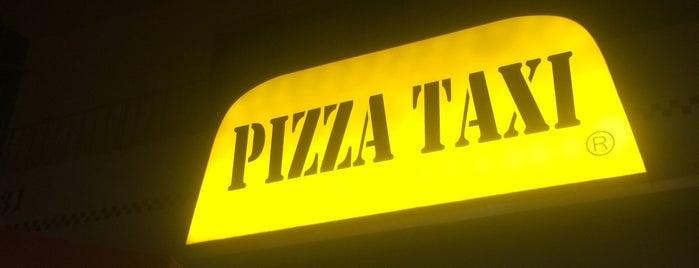 Pizza Taxi is one of สถานที่ที่บันทึกไว้ของ Emre.