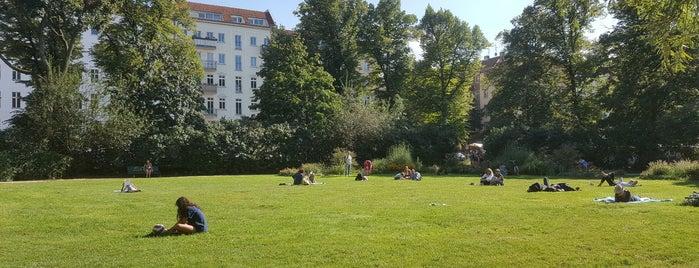 Arkonaplatz is one of Prenzlauer Berg.