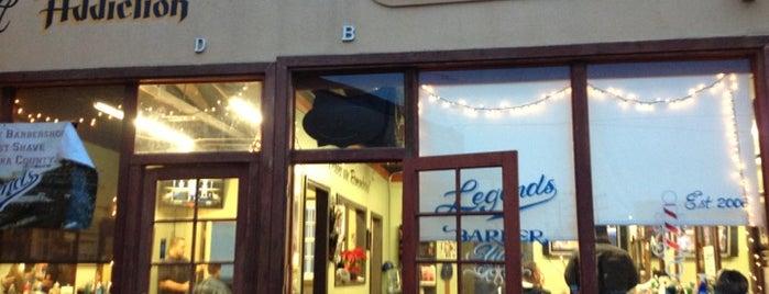 Legend's Barbershop is one of สถานที่ที่ Matt ถูกใจ.