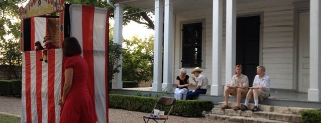 French Legation Museum is one of Fore! A Course of Austin's Best (and Weirdest).
