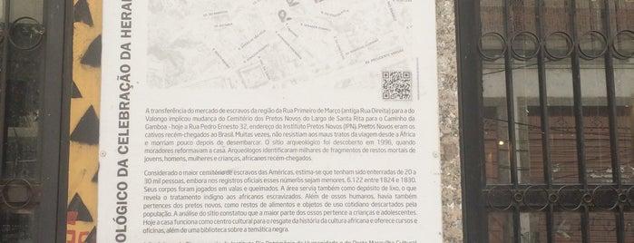 Instituto de Pesquisa e Memória Pretos Novos (IPN) is one of Lugares que (ainda) não conheço no Rio.
