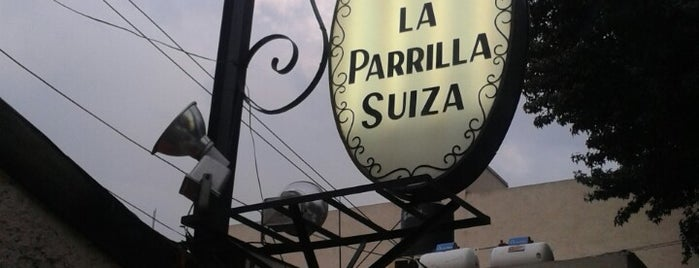 La Parrilla Suiza is one of Restaurantes.