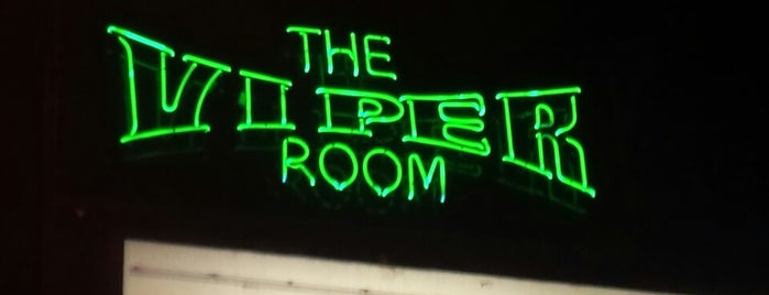 The Viper Room is one of Going Back To Cali...Again.