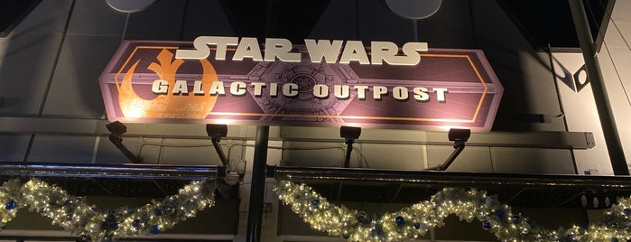 Star Wars Galactic Outpost is one of Disney Springs.