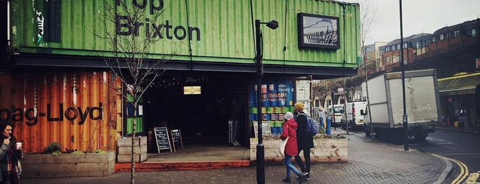 Pop Brixton is one of Lieux qui ont plu à Kevin.