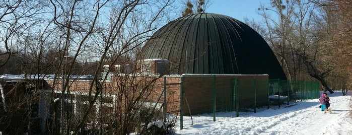 Planetarium am Insulaner is one of Orte, die Cristi gefallen.