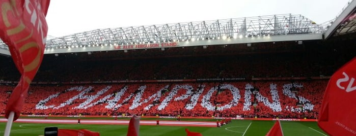 Old Trafford is one of Manchester.