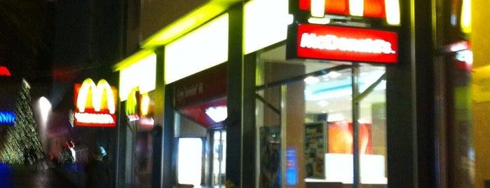 McDonald's is one of Free WiFi v Praze.