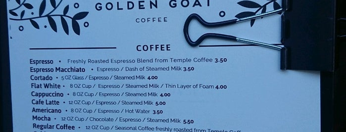 Golden Goat Coffee is one of Do: San Francisco ☑️.