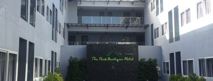 The Peak Boutique Hotel is one of Orte, die Gerd gefallen.