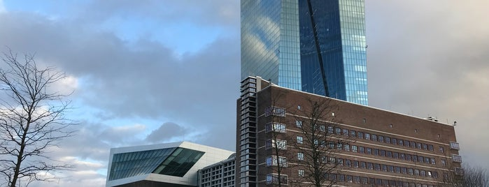 Banca centrale europea (BCE) is one of Best of Frankfurt am Main.