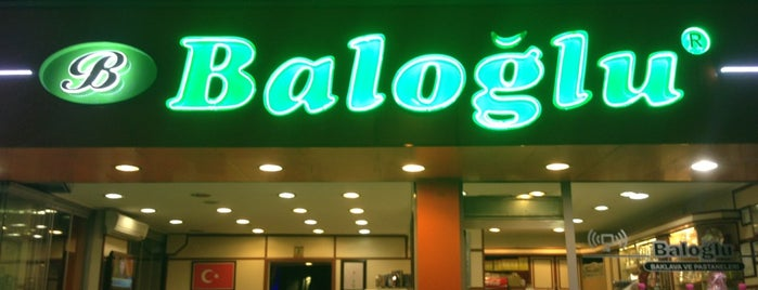 Baloğlu Pastanesi is one of Tempat yang Disukai İrem Hacer.