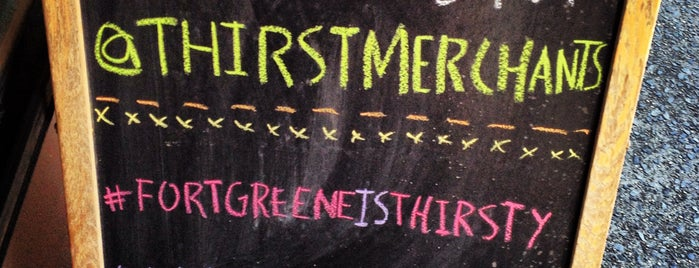 Thirst Wine Merchants is one of The Definitive Fort Greene.