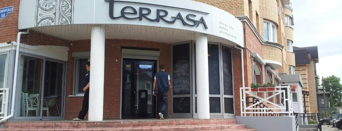 Terrasa is one of Artemyさんのお気に入りスポット.