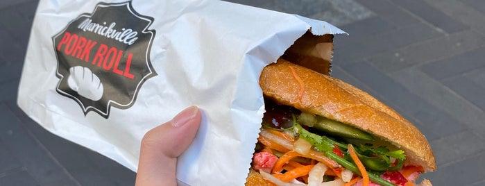 Marrickville Pork Roll is one of Sydney.