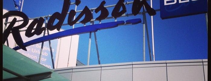 Radisson Blu is one of Radisson Blu Hotels.