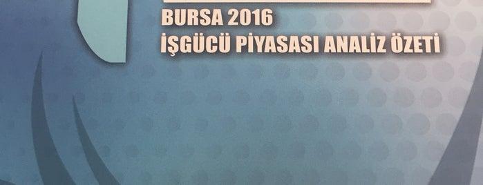 T.C. Bursa Çalışma ve İş Kurumu İl Müdürlüğü Ek Binası is one of Lugares favoritos de Şule.