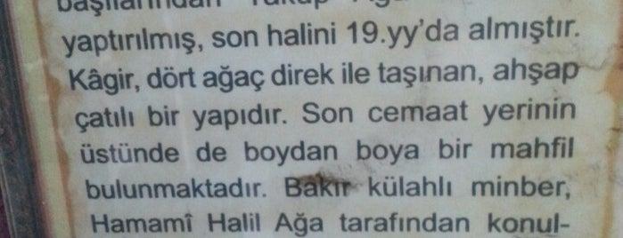 Sekbanbaşı Yakup Ağa Camii is one of 1-Fatih to Do List | Spiritüel Merkezler.