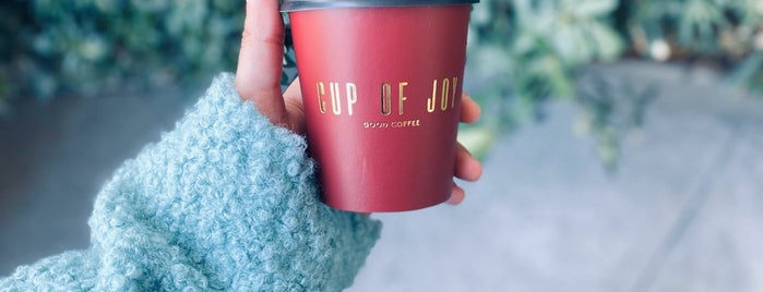 Cup of Joy is one of Lieux qui ont plu à Duygu.