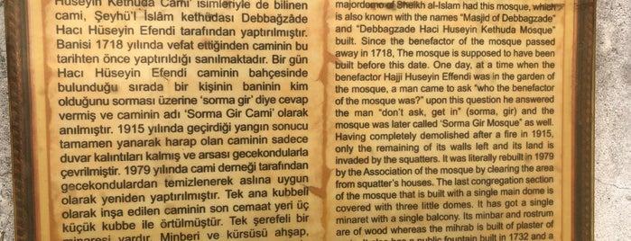 Hacı Hüseyin Kethüda Sormagir Camii is one of gezilen beğenilen mekânlar.