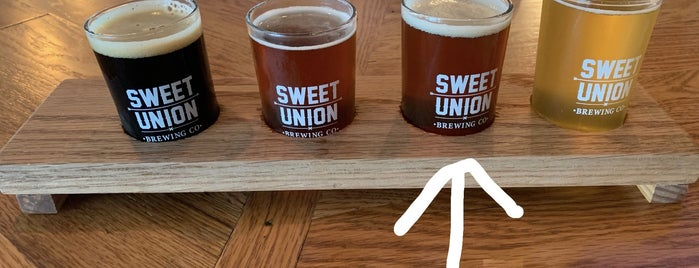 Sweet Union Brewing Company is one of Breweries or Bust 3.